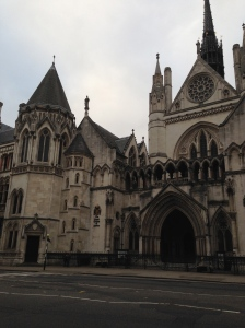 The Royal Courts of Justice - home to the High Court and the Court of Appeal of England and Wales